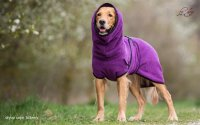 Fit4Dogs - Hundebademantel dryup cape Billberry