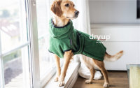 Fit4Dogs - Hundebademantel dryup cape Dark Green