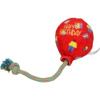 KONG Occasions Birthday Balloon Blue L