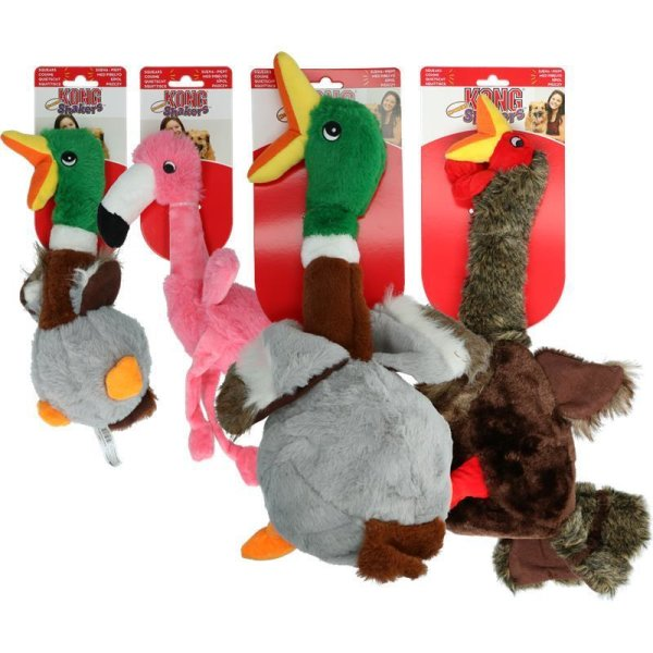 KONG Shakers Honkers Duck Small