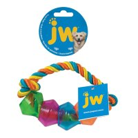 JW Treat Pod Rope Ring Small 17,8cm Multi Color