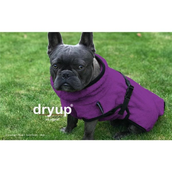 Fit4Dogs - Hundebademantel dryup Cape Mops Billberry
