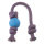 Beco Ball with Rope Large Blue