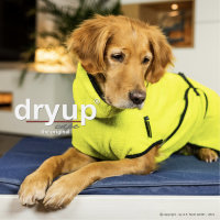 Fit4Dogs - Hundebademantel dryup cape Lime